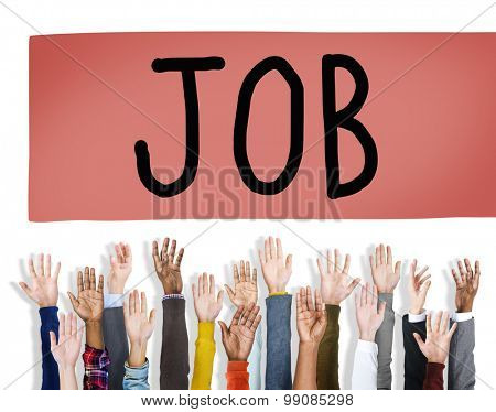 Job Profession Hiring Occupation Employment Concept