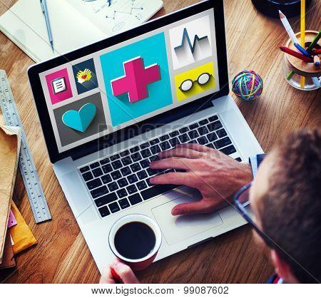 Healthcare Check Up Medical Examination Concept