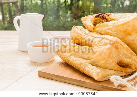 Puff Pastry For Tea Break / Puff Pastry