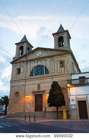 Cathedral In Santanyi, Mallorca