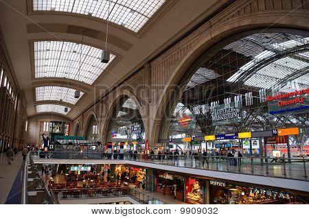 Hauptbahnhof - Leipzig, Germany