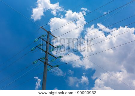 Electricity Pylon In China