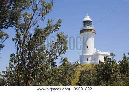 The Cape Byron lighthouse, New South Wales, Australia