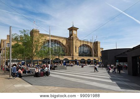 Kings Cross Square, London