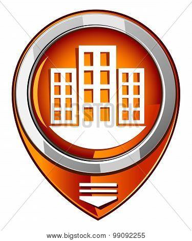 City Orange Pointer