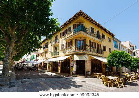 Pizzeria In The Atra Town, Mallorca
