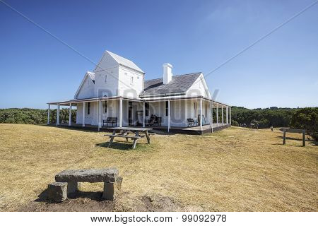 Cape Otway Light Keeper's house, Great Ocean Road, Australia