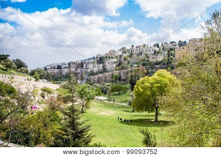 Israel Jerusalem Valley of Hinnom April 4, 2015