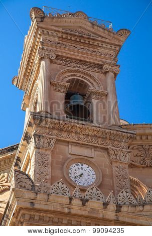 Belfry On Mosta Dome, Malta