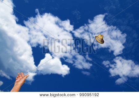 Throwing Hat