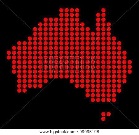 Australia In Dots