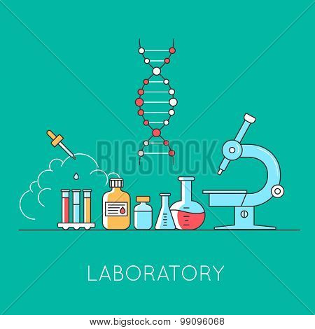 Medical and lab equipments.