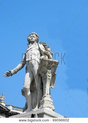 Statue Of Wolfgang Amadeus Mozart, Vienna, Austria