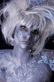 picture of faerie  - Model with stage makeup - JPG