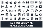 Real Estate Icons poster