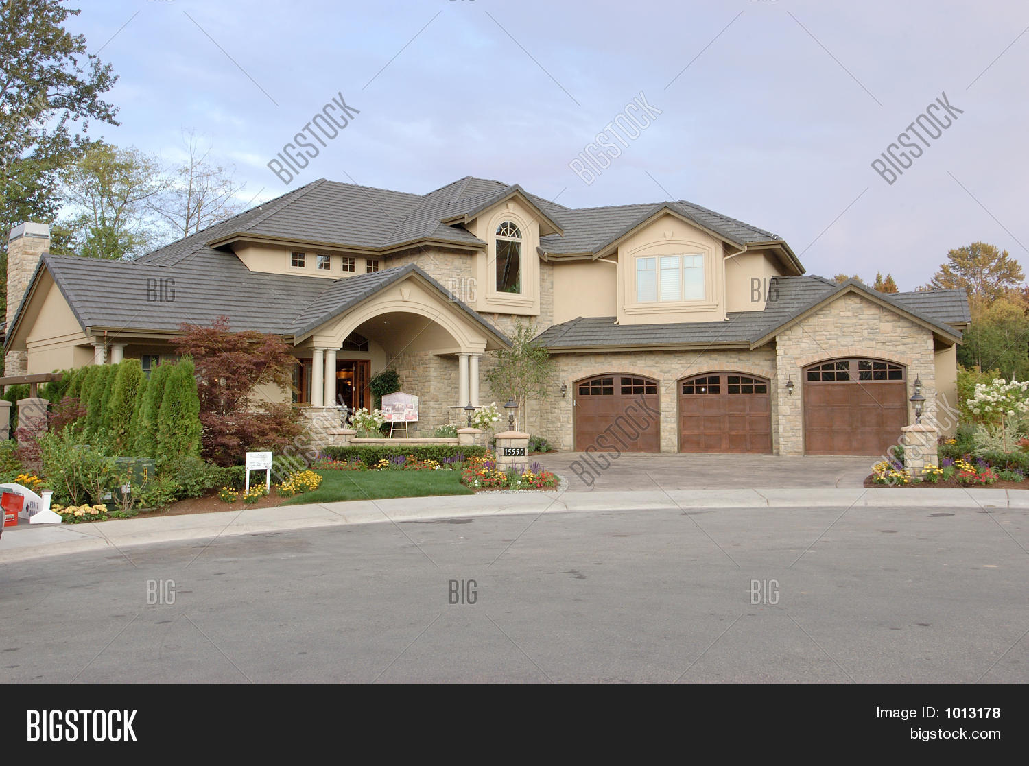 Luxury american house image photo bigstock for Big houses in america