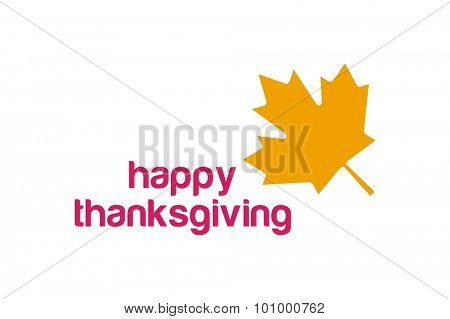 Thanksgiving day canada logo. Thanksgiving leaf. Thanksgiving  background or banner. Thanksgiving leaves vector silhouette. Thanksgiving with leaves falling on white. Yellow and red colors
