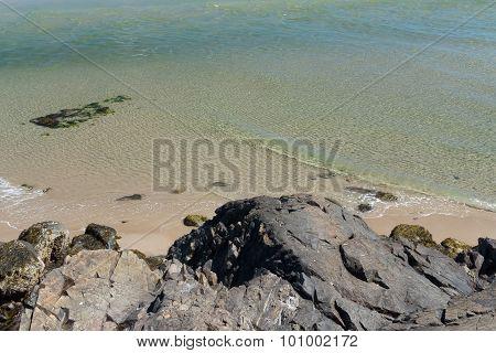 clear water in Ogunquit, Maine