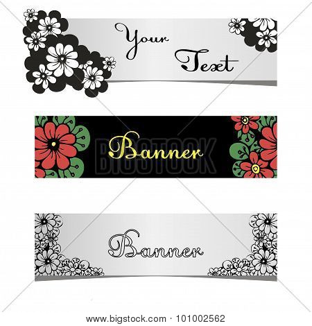 stylish banners for web sites