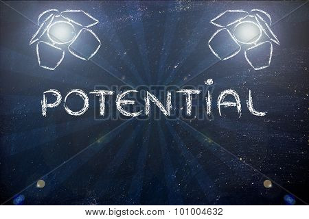 Put Your Potential In The Spotlights