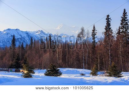 Mount Mckinley, Denali National Park And Preserve