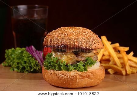 Appetizing Fresh Burger