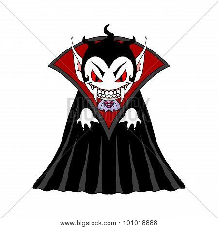 Vampire Man Cartoon Character