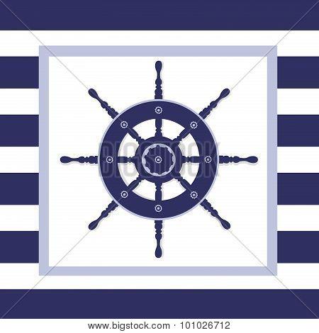 Nautical Helm Wheel