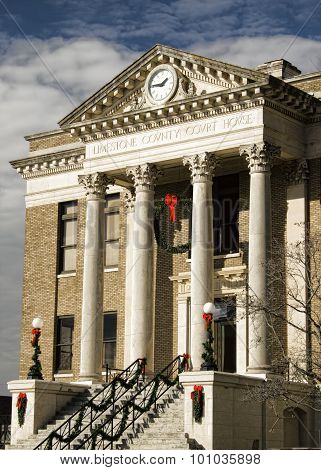Historical Limestone County Courthouse