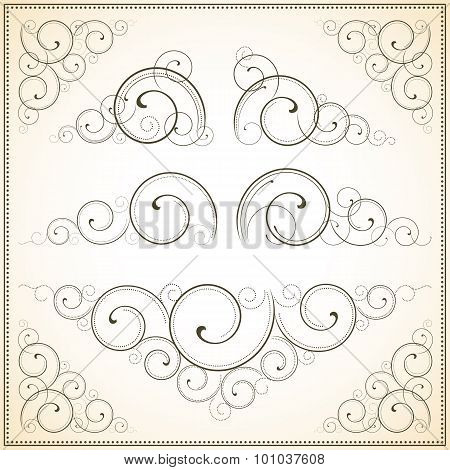 Ornate Vector Scrolls