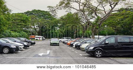 Car Parking Lot In Singapore