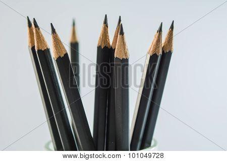Pencil several bars