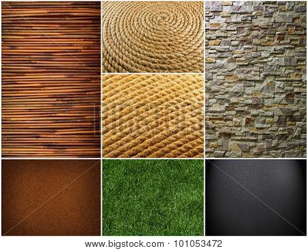 Collection Of Textures Backgrounds