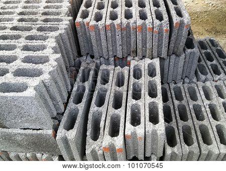 White Block Pile