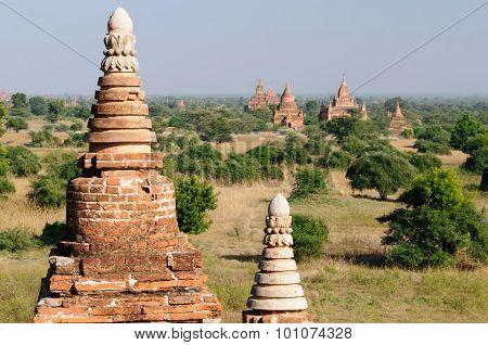 Ruins Of Bagan, Myanmar (burma)