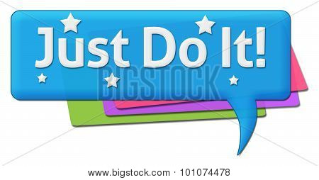 Just Do It Colorful Comments Symbols