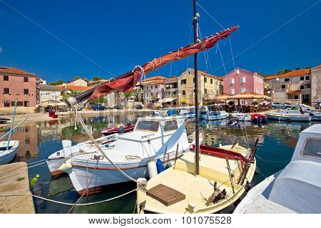 Town Of Sali On Dugi Otok Island