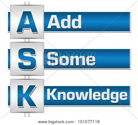 Ask Formula Blue Grey Blocks