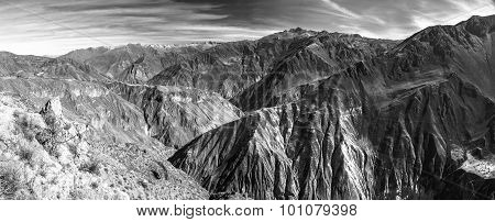 Colca Canyon panorama