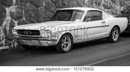 Ford Mustang 289 Stands Parked