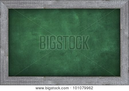 plain green chalkboard background