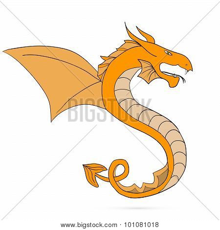Chinese Dragon Traditional Culture, vector