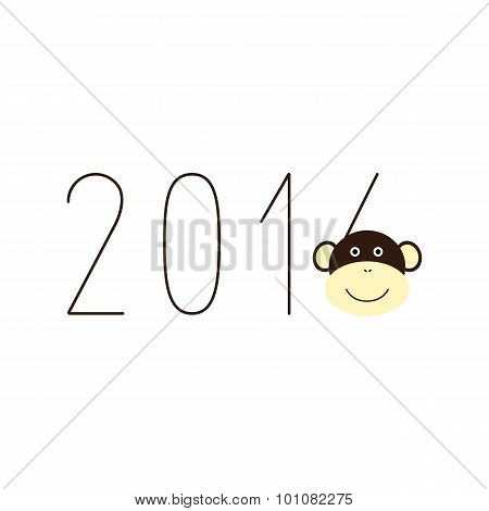 2016 Numbers With Monkey