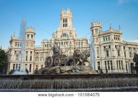 Plaza Cibeles in Madrid
