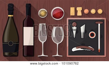 Wine Tasting Toolkit