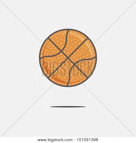 Colorful Basketball Ball
