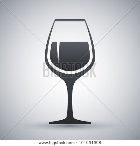 Vector Wineglass Icon