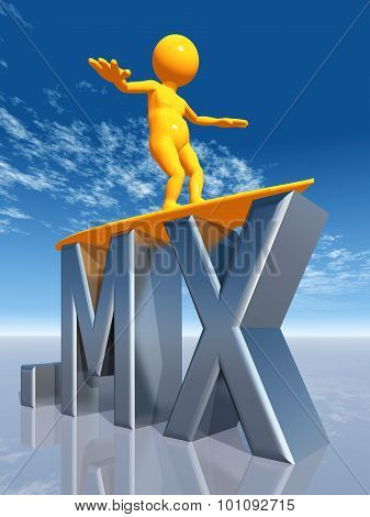 MX Top Level Domain of Mexico