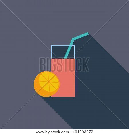 Fruit juice icon.
