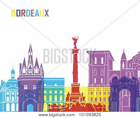Bordeaux Skyline Pop